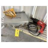 "Milwaukee 1/2"" hammer drill Model 5378–02 and DeWalt carbide tipped precision masonry bits"