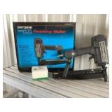 """Craftsman air drive 16 gauge finishing nailer Model 18321 and quantity of Porter Cable 16 gauge x 2"""" finishing nails"""