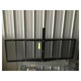 """Hitch rack cargo carrier, fits 2"""" receiver and measures 5"""