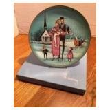 """P Buckley Moss Celebration Series Collector Plate # 2 in the Series """"The Christening"""" Plate 1752/5000"""