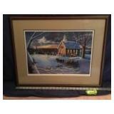 Patrick J Costello framed ??? S/N 151/380