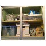Cabinet full of lightbulbs