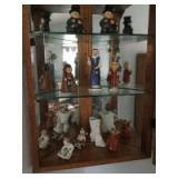 9 Goebel figurines