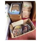 Norman Rockwell collector plates No.219-247 plus large quantity without boxes/certificates