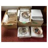 Norman Rockwell collector plates No. 175-216 with certificates of authenticity