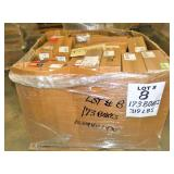 173 Boxes +/-, 319Lbs+/-