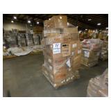 100 Boxes +/-,657Lbs+/-