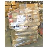 50 Boxes +/-, 496 Lbs +/-