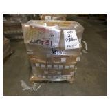 95 Boxes +/-, 482 Lbs +/-