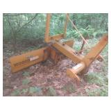 Woods RB60 3 pt. scraper