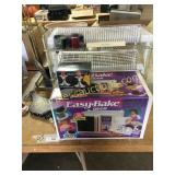 Easy-Bake oven, fireplace tools, misc
