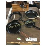 Pans, tools