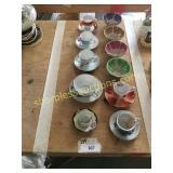 Bowls, cups/saucers