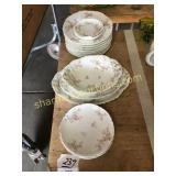 Dishes, platters