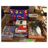 Bridle, books, misc