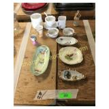 Misc plates, cups, bowls