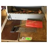 Tool box, tools