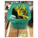 Tow rope, tools