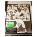 Reggie Jackson plaque