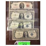 Silver certificate, $2 bill
