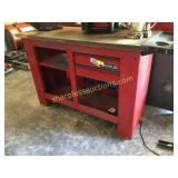 Waterloo tool bench, cabinet