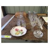 Stemware, dishes, misc