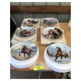 "Collection ""The Sioux Nation"" plates"