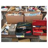 Tool boxes, tools, hitches, misc