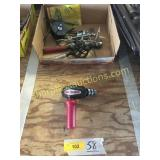 Milescraft Drill 90, misc tools
