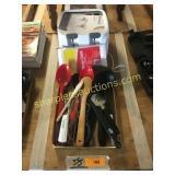 Rival toaster, kitchen utensils