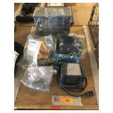 Drill sharpener, grinder, hardware misc