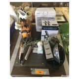 Holmes air purifier, solar spot light, kitchen