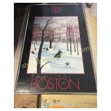 P. Buckley Moss Boston Picture/frame