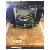 GE Trimline record player system
