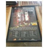 Iowa State basketball framed poster
