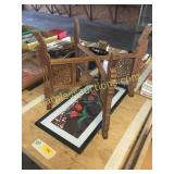 Table stand, picture