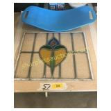 Stain glass from England, Simply fit board