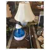 Crane, collapsible I V pole, table lamp