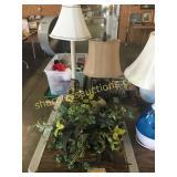 Table lamps, home décor