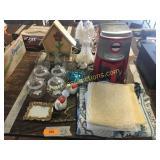 KitchenAid coffee maker, home décor