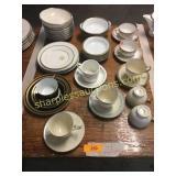Fine china pieces, Lenox, Royal Doulton,