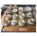 Fine china pieces, Wedgwood,Lenox, Noritake,