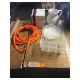 Scentsy warmer, air hose, misc