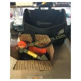 Kobalt wheeled case, toys