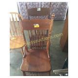 Oak kitchen chairs(2)