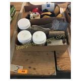 Mickey mouse, tools, polishing paste