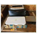 Printers, electronics, misc