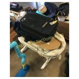 Baby bed, suitcase
