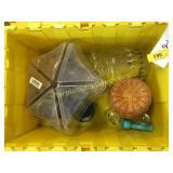 Longaberger basket, household items, qty 4