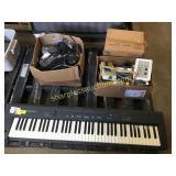 Roland keyboard, CB radios, misc